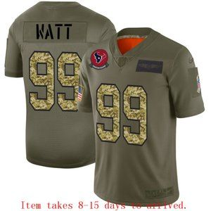 Houston Texans J.J. Watt Jersey Camo